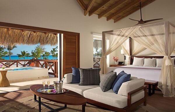 Preferred Club Bungalow Master Suite Ocean Front