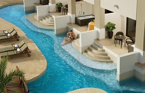 Preferred Club Junior Suite Ocean View Swim Out
