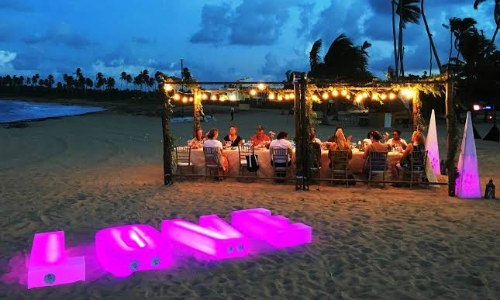 Beach and Outdoor Reception