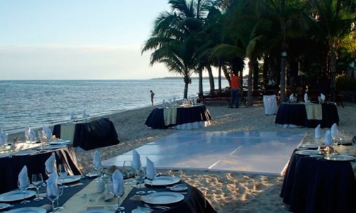 Zocalo Playa Reception